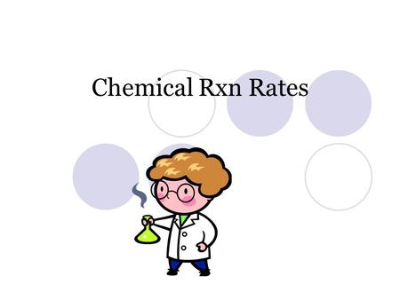 Chemical Rxn Rates. Chemical Kinetics The area of chemistry that concerns reaction rates. However, only a small fraction of collisions produces a reaction.