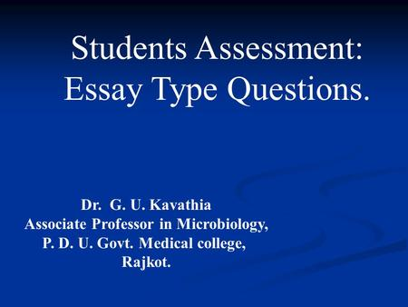 Medical School Essays Writing