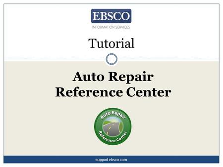 Auto Repair Reference Center Tutorial support.ebsco.com.