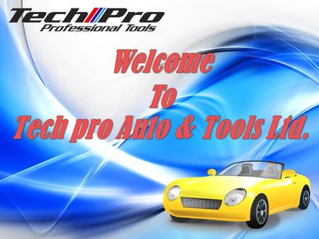 About Us Tech Pro Professional Auto Tools was established at Scarborough Toronto, Canada in 2008. We provide in retail and wholesale all kinds of automotive.