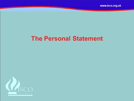 ucas personal statement outline