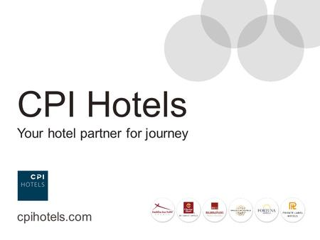 CPI Hotels Your hotel partner for journey cpihotels.com.