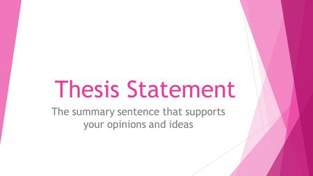 musicology thesis statements