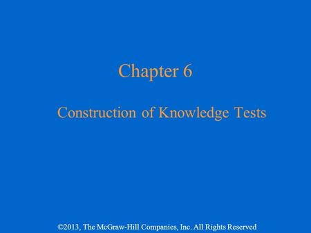 types of constructing an essay examination