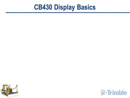 CB430 Display Basics. Display Introduction LCD Screen Data Card Door/Slot Main Hardkeys Hardkeys / Softkeys.