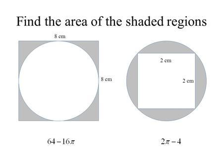 Find the area of the shaded regions 2 cm 8 cm. Vertices Edges Base No Vertices No Edges How would we find the surface area of this cylinder?