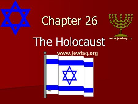 Chapter 26 The Holocaust. In Remembrance As the Allies liberated areas that had been under German control, they found evidence of Nazi brutality. Concentration.