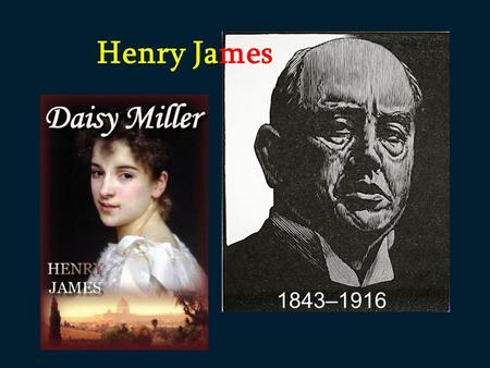 a literary analysis of the portrait of a lady by henry james It is important, however, to add that although james is an undeniable part of the literary establishment today,  henry james, the portrait of a lady ,.
