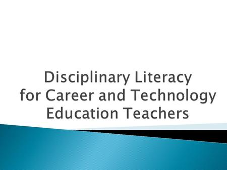 Participants will:  Become more familiar with Disciplinary Literacy  Identify the importance of text complexity in disciplinary literacy.  Identify.