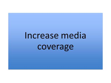 Increase media coverage. Television and media outlets deliver what the Australian society watch and read about in regard to sport.