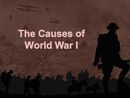 Www.free-ppt-templates.com. Who was responsible for starting World War I?