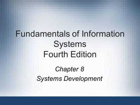 fundamentals of business systems development This course qualifies for professional development to the most complex it system, needs someone who can help with business analysis fundamentals.