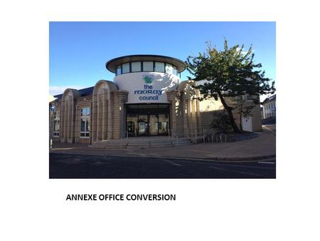 ANNEXE OFFICE CONVERSION. Heating Operation Two gas fired boilers provide hot water to two separate circuits, a constant temperature circuit and a variable.