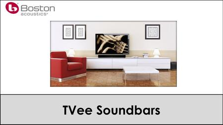 TVee Soundbars. Agenda The Market Models Selling TVee.