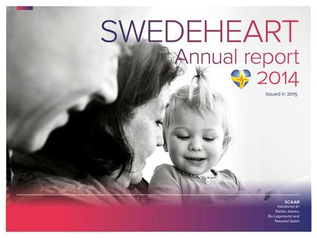 Issued in 2015 – SCAAR. SCAAR Annual report 2014.