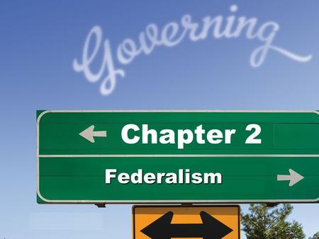 Chapter 2 Federalism. Federalism Power sharing between central and regional governments Who has the power to do what?