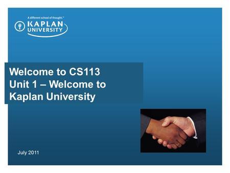 CS113 Introduction to C