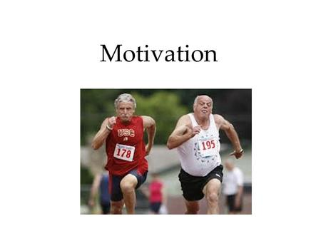 Motivation. Motivation and Work Motivational Concepts  Instincts and Evolutionary Psychology  Drives and Incentives  Optimum Arousal  A Hierarchy.
