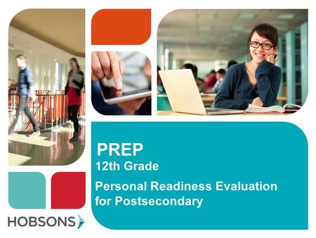 PREP 12th Grade Personal Readiness Evaluation for Postsecondary.