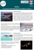Learn from top scientists MRes Ecosystem-Based Management of Marine Systems Course overview This demanding and ambitious Masters programme is designed.