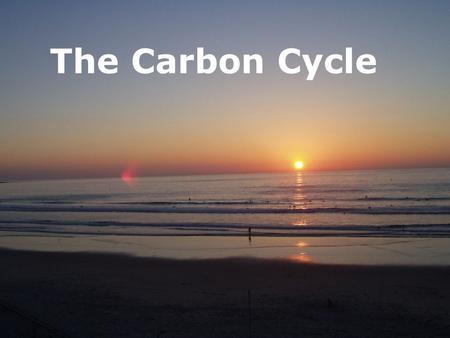 The Carbon Cycle. Carbon Dioxide and Carbonate system Why is it important? 1. Regulates temperature of the planet 2. Important for life in the ocean 3.