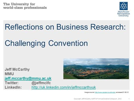 Reflections on Business Research: Challenging Convention