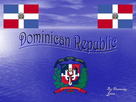 By: Diasmany, Jaime. Independence: Dominican Republic gained its independence from Haiti on January 27, 1844. Independence: Dominican Republic gained.