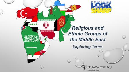 Religious and Ethnic Groups of the Middle East Exploring Terms.
