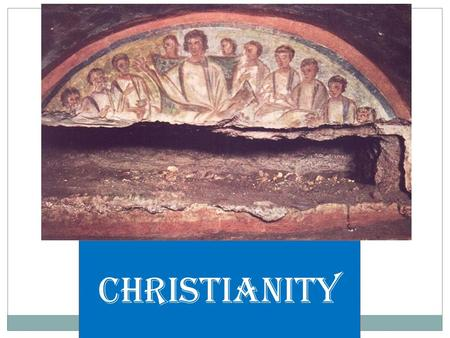 "Christianity. Do Now – Quick Questions What was the Pax Romana? How long did it last? Which emperor was responsible for ""beginning"" the Pax Romana? Describe."