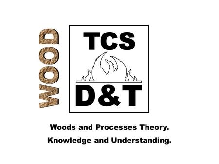 Woods and Processes Theory. Knowledge and Understanding.