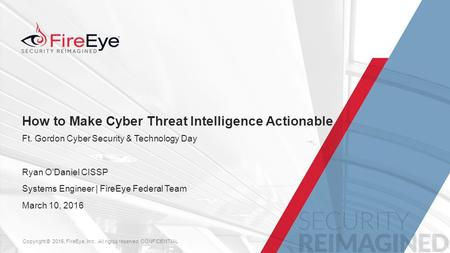 How to Make Cyber Threat Intelligence Actionable