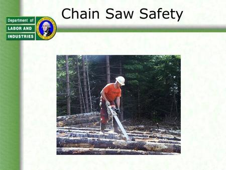 Chain Saw Safety. Chain Saw Injuries There were over 28,500* chain saw injuries in 1999 according to the U.S. Consumer Products Safety Commission. The.