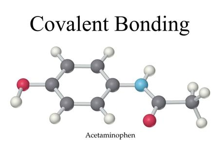Covalent Bonding. Covalent Bond: –a bond formed by the sharing of electrons between atoms. (does NOT form charges) –Made up of nonmetals Molecule: a neutral.