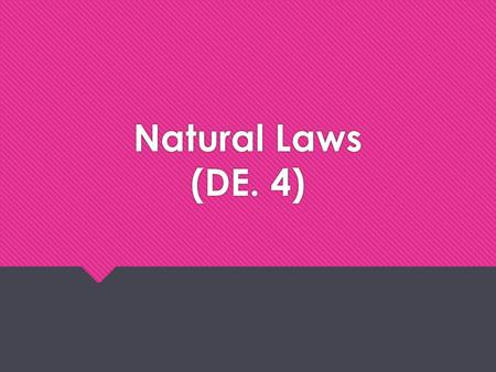 Natural Laws (DE. 4). How Laws of Nature Affect Vehicle Balance & Weight Load Transfer Gravity Kinetic Energy MomentumInertia.