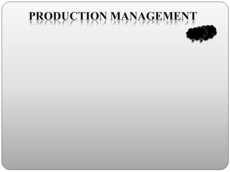 Contents Introduction Product. Production. Management. Production and Operations Management an Overview. Definition of Production Operations Management.
