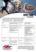 VENUEBLOUBERG RIDING CENTRE, Farm Amesfort, Vivo, 0924, Limpopo BANK DETAILSBLOUBERG RYSKOOL ABSA, ACC: 9239055554 ENTRIES CLOSE27 June 2014 at 12h00 (