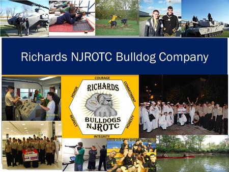 Richards NJROTC Bulldog Company. Bulldog Company Chain of Command SNSI: Commander Groters NSI: Chief Reynolds Company Commander: Randy Flaherty Executive.