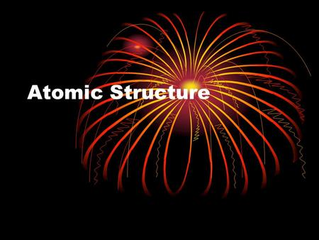 Atomic Structure. Subatomic Particles Proton Positive charge + Mass of 1 amu Found in the nucleus # of protons = atomic number 11 Na Sodium.