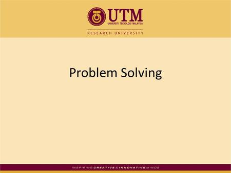 jackie amantia hum115 r2 problem solving Learn the 4 steps of problem solving that can help you research and resolve the issues confronting your organization.