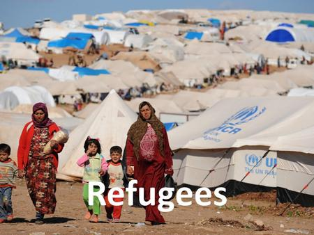 Refugees. Refugee Crisis Crisis begins around 2007, increasing sharply in 2011 60 Million displaced persons globally. 2015 escalation. Macedonian Policy.