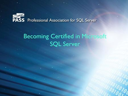 Becoming Certified in Microsoft SQL Server. About Me Chris Hyde Senior Consultant with Leidos Health (formerly SAIC) MCSA – SQL Server 2008, MCITP 14+