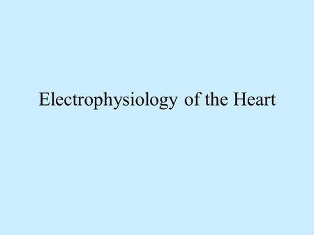 Electrophysiology of the Heart. ECG Monitoring The ECG is a graphic representation of the heart's electrical activity generated by depolarization and.