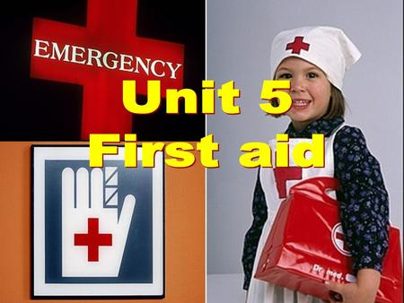 1. Part one: Pre-reading 3 4 First aid is a ____________________ given to someone who suddenly _______ or __________ before a doctor can be found. Often.