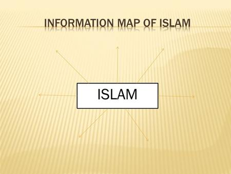 ISLAM. Who was the founder of Islam? Muhammad What is the name of God in Islam?