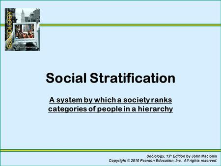 essays on social stratification in american society