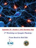 September 29 – October 1, 2012 Taormina, Italy 2 nd Workshop on Synaptic Plasticity: From Bench to Bed Side From Bench to Bed Side.