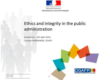 ethics and integrity in public admin Through this course, awdhesh singh talks about the ethics in public adminstration not just this, he also talks about the legal, just and fair, accountability, commitment, responsive and responsible behaviour of a civil servant.