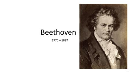Beethoven 1770 – 1827. Early Period 1770 - 1802 Life in Vienna String Quartet No. 12 in E Flat Major Sold for L 1,181,600.