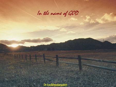 In the name of GOD Dr.kadkhodazadeh. Periodontal Microbiology Susan Kinder Haake, Michael G. Newman, Russell]. Nisengard, and Mariano Sanz CHAPTER OUTLINE.
