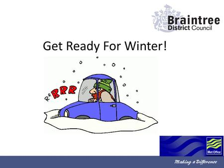 Get Ready For Winter!. The winter is getting cooler, and winter is starting to set in.